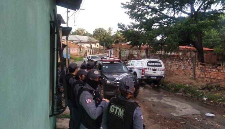 POLICIA CIVIL E MILITAR CUMPREM 35 MANDADOS DE PRISÕES EM SÃO JOSÉ DE RIBAMAR PELA OPERAÇÃO MARÉ BAIXA