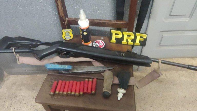 PRF apreende carabina e munição durante Operação Lignum em Imperatriz  MA