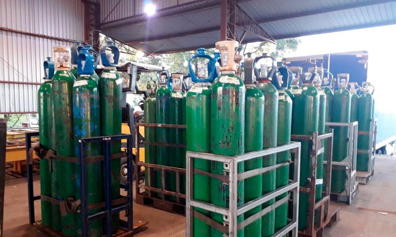 Ceará receberá cilindros de oxigênio após explosão em fábrica