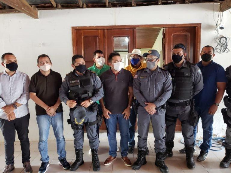 Toinho Patioba deseja boas vindas ao novo comandante da polícia militar de Gonçalves Dias