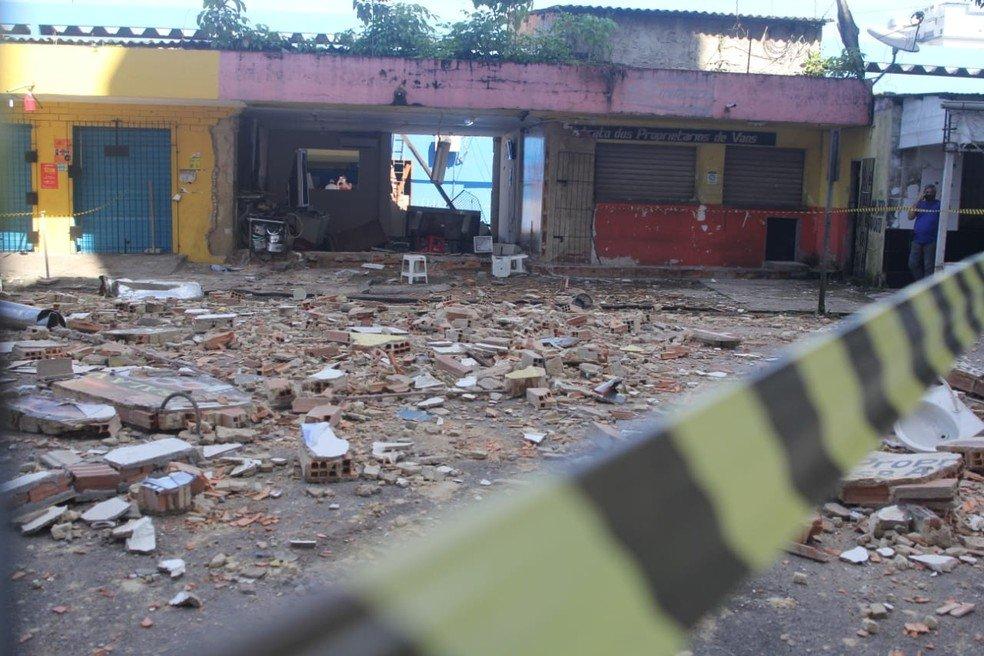 Explosão de gás em restaurante deixa uma pessoa gravemente ferida em Belém