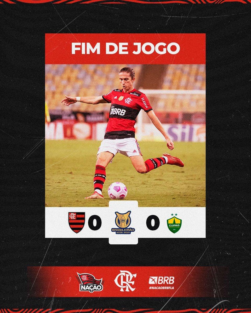Flamengo e Cuiabá 0 a 0